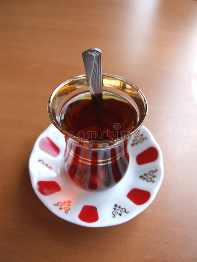 Tea time turkish royalty free stock photography