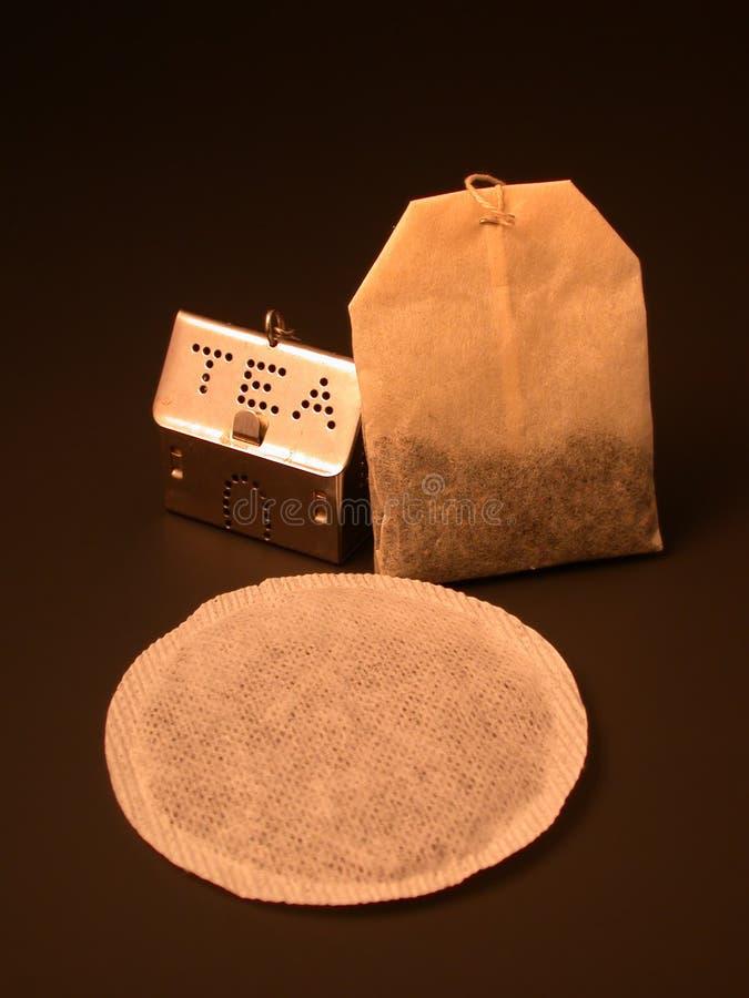 Download Tea Trio stock photo. Image of bags, morning, fold, sepia - 8606