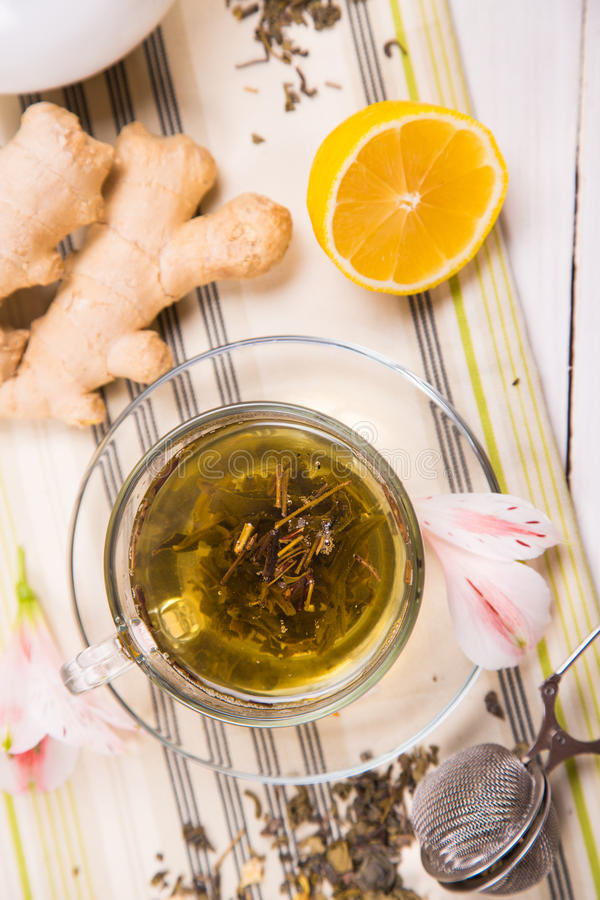 Free Tea With Ginger Royalty Free Stock Image - 54719366