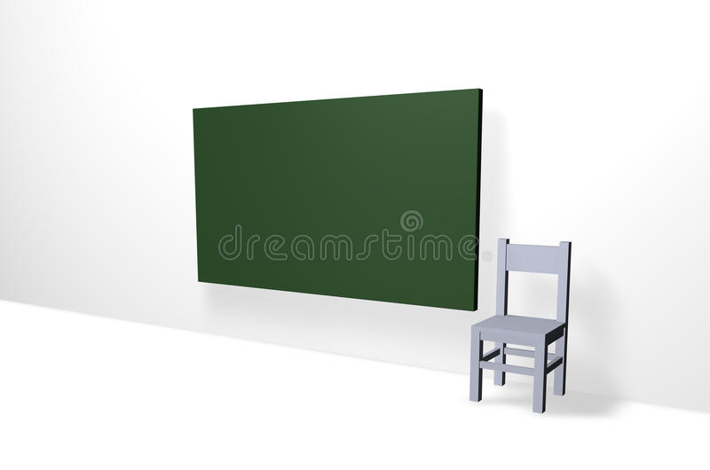 Download Teach stock illustration. Image of room, blank, classroom - 18180300