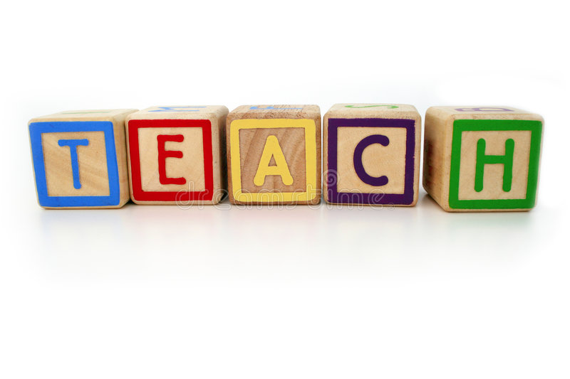 Download Teach Me Stock Image - Image: 615811