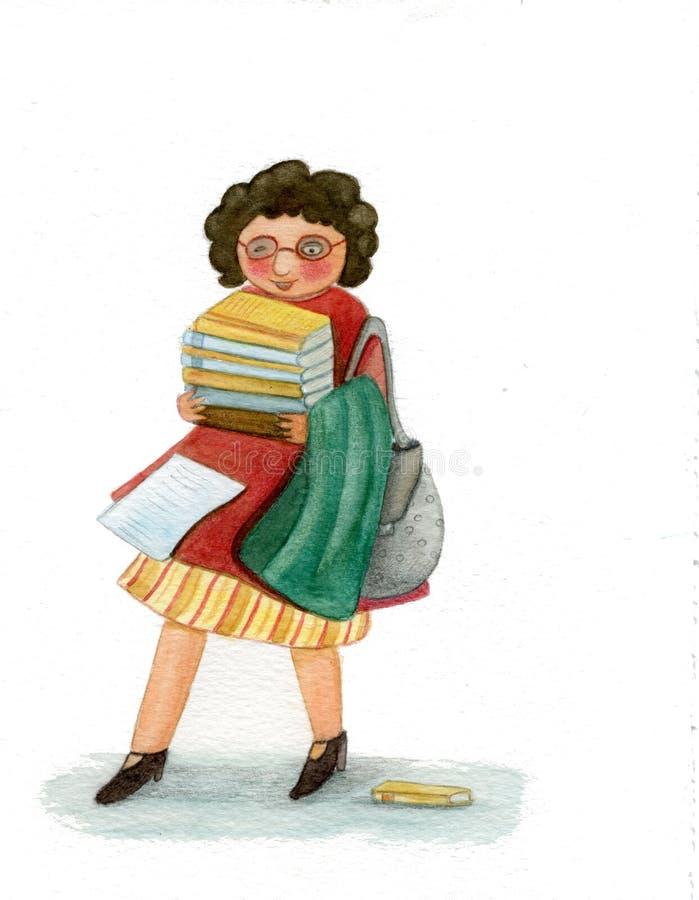 Download Teacher stock illustration. Illustration of illustration - 12902603