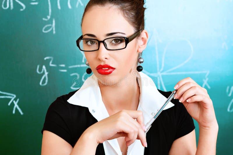 Teacher stock image