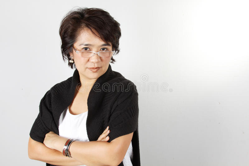 Download Teacher stock photo. Image of great, woman, cross, pose - 17521580
