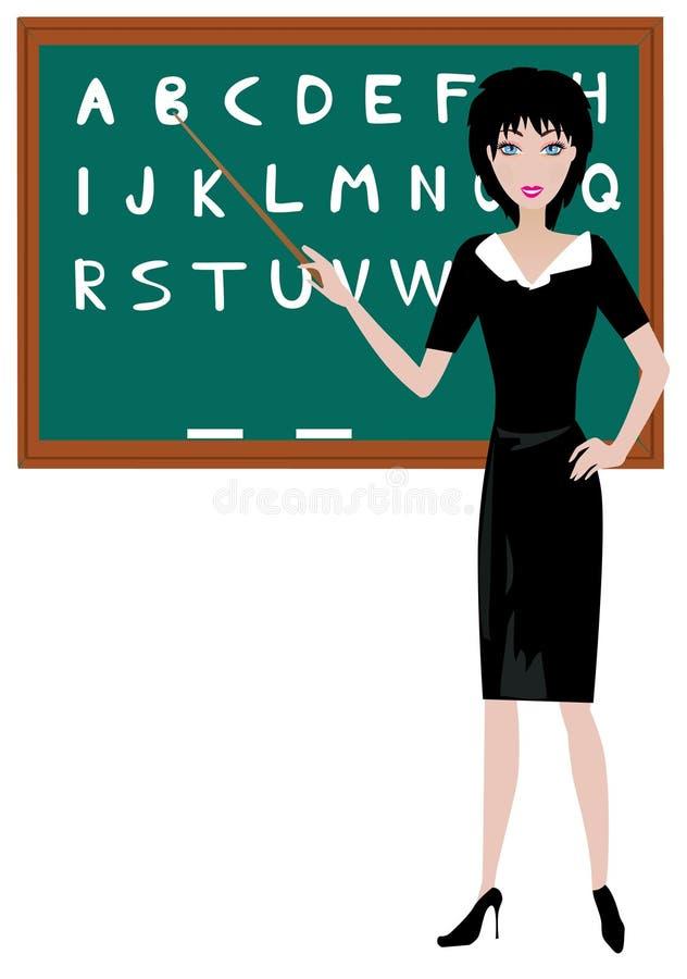 Teacher royalty free illustration
