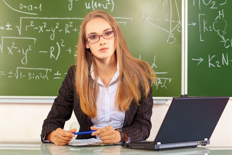 Teacher royalty free stock photos