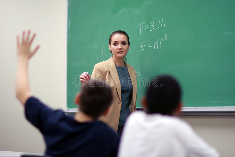 Download Teacher stock photo. Image of candid, real, building, secondary - 4830964