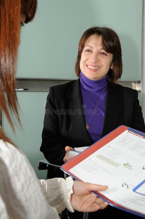 Teacher royalty free stock photo