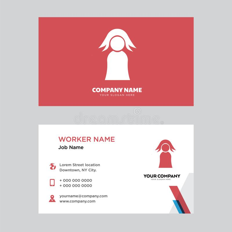 Teacher business card design editorial image illustration of teacher business card design template visiting for your company modern horizontal identity card vector friedricerecipe Gallery