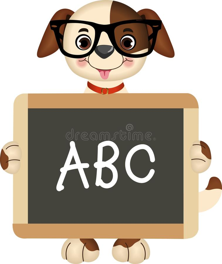 Download Teacher Dog stock vector. Illustration of isolated, sketch - 26480726