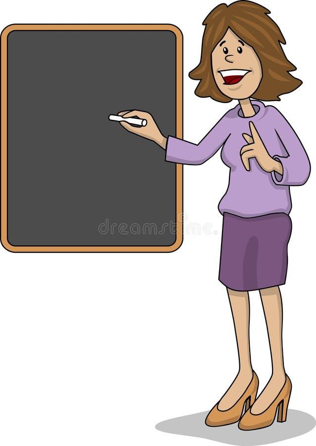 Teacher female vector illustration