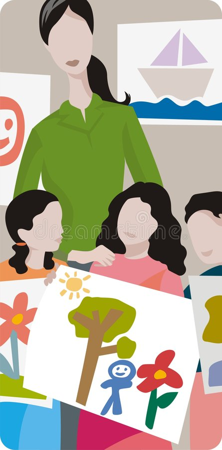 Download Teacher Illustration Series Stock Vector - Illustration of woman, primary: 2009544