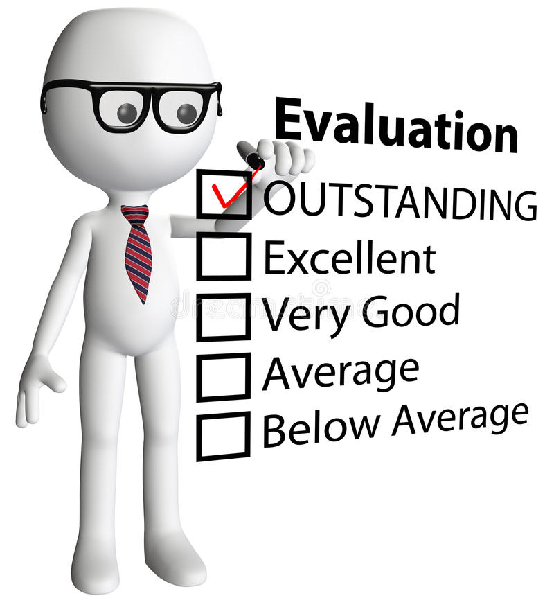 Download Teacher Manager Check Evaluation Form Report Stock Illustration - Image: 19615918