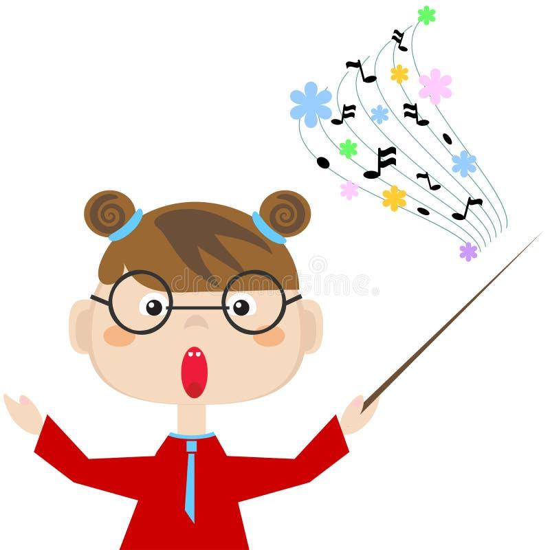 Free Teacher Of The Music Stock Image - 33427311