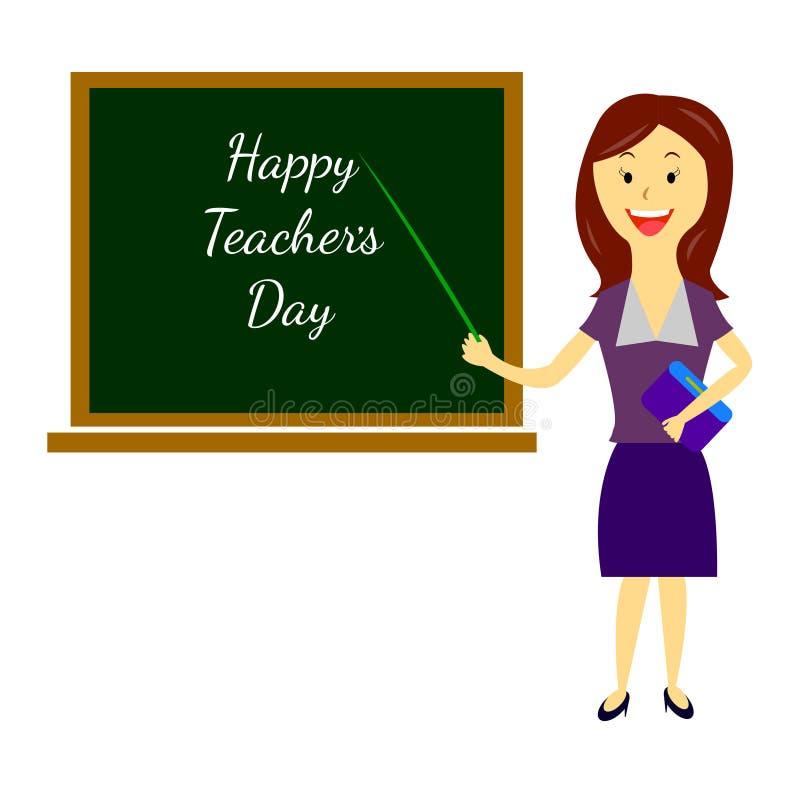 Teacher`s Day 1 vector illustration