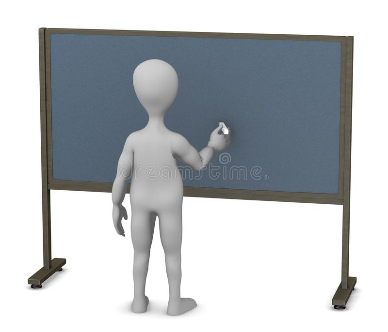 Download Teacher Trying To Teach Something Stock Illustration - Image: 24588714