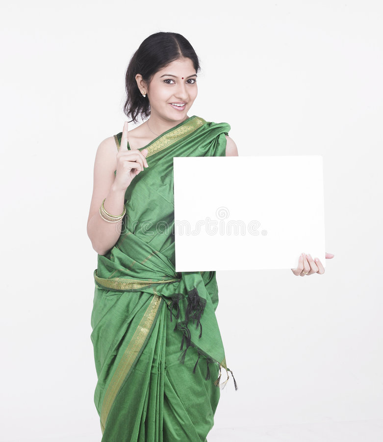 Download Teacher With White Placard Royalty Free Stock Images - Image: 7332929