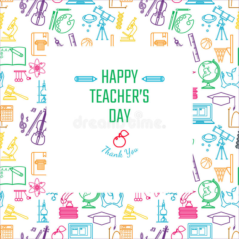 Teachers day holidays stock vector illustration of background download teachers day holidays stock vector illustration of background 69555917 spiritdancerdesigns Images