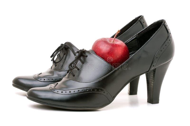 Download Teachers Shoes stock image. Image of pair, black, close - 17412259