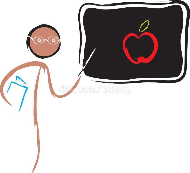 teaching royaltyfri illustrationer