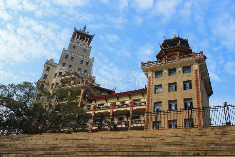 Teaching Building of Xiamen jimei xuecun. This Teaching Building is located in Jimei Xiamen, Fujian Province royalty free stock photos