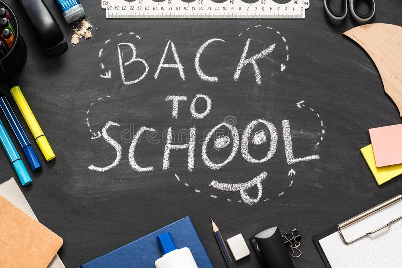 Teaching learning back to school stationery stock photography