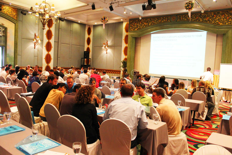 Teaching seminar, Thailand. royalty free stock images