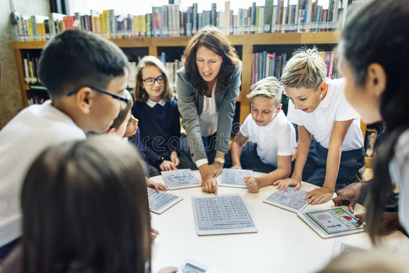 Teaching Studying Library Learning Knowledge Concept royalty free stock image