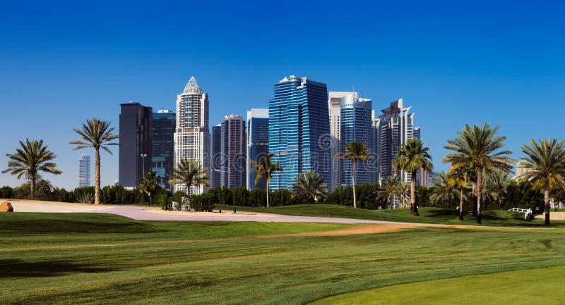 Teacom Is A Newly Developed Area Of Dubai, UAE Stock Photo