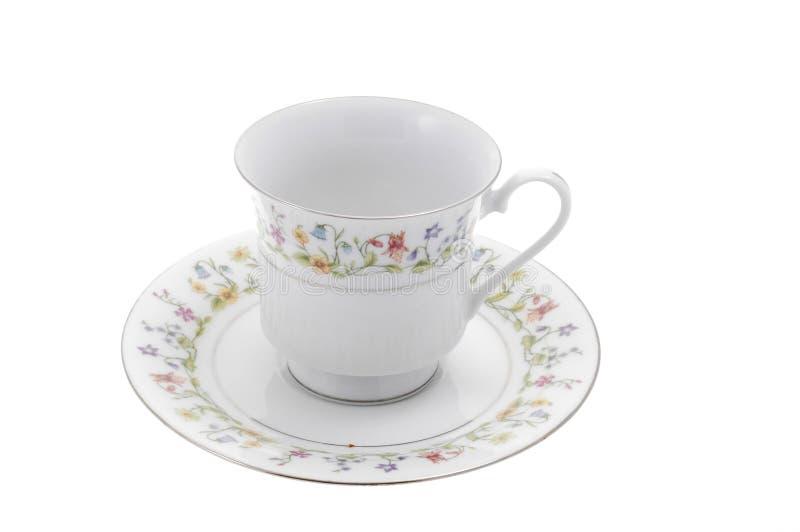 teacup royaltyfri fotografi