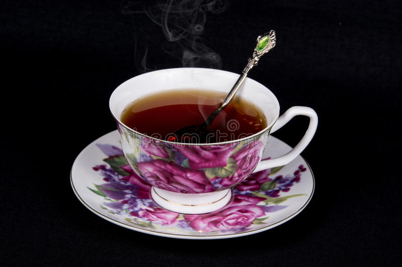 teacup photographie stock