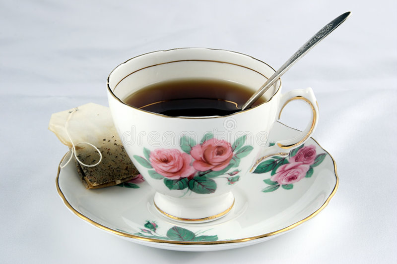 Teacup imagem de stock royalty free