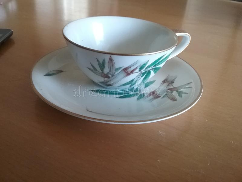 Teacup. Little tiny  short and stout royalty free stock image