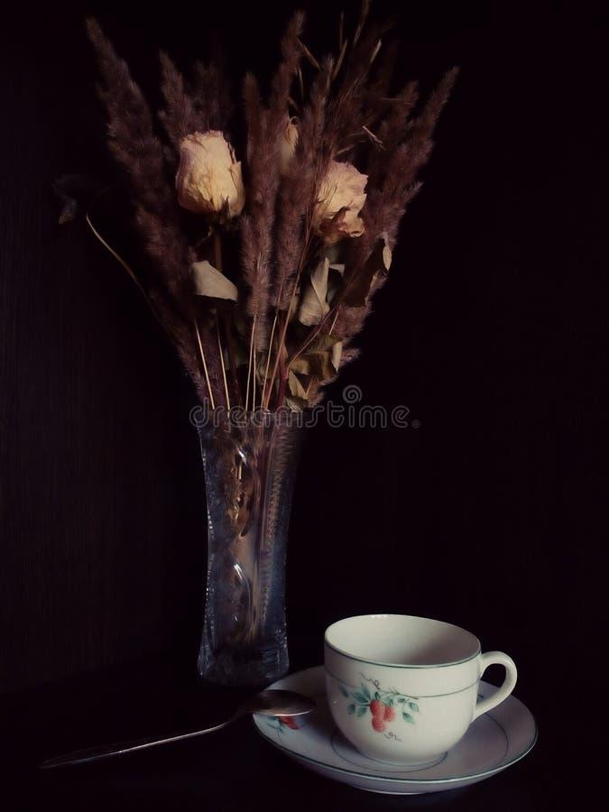teacup stockfoto