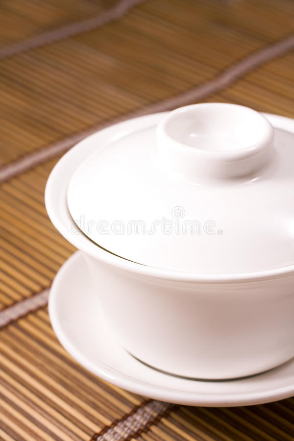 Download Teacup on wooden table stock photo. Image of pottery - 15760522