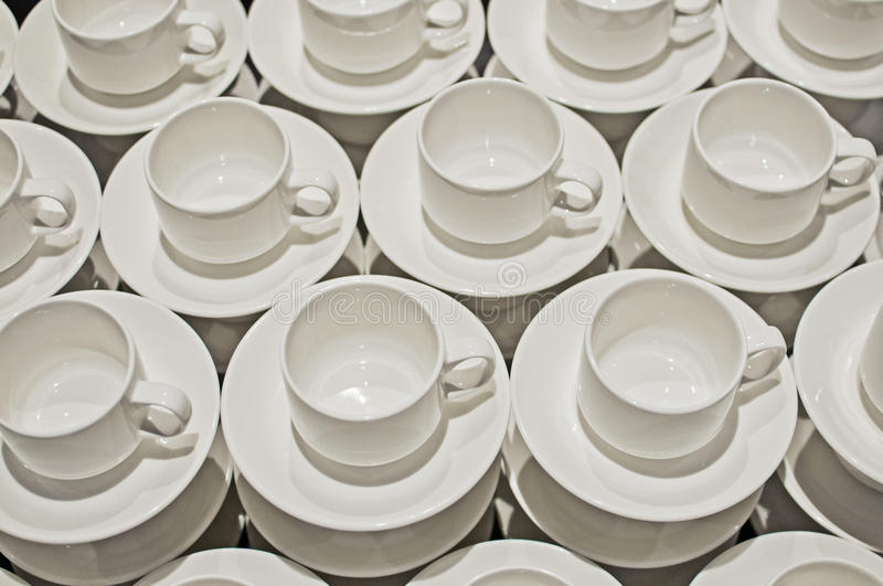 Teacups stock image