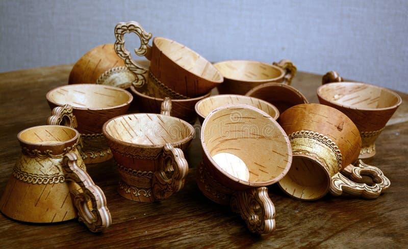 teacups fotos de archivo