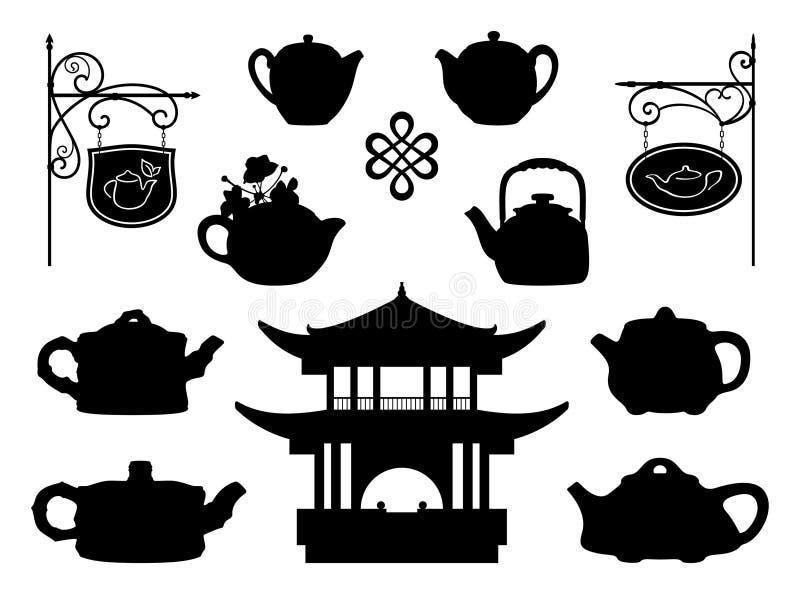 teahouse ilustracji