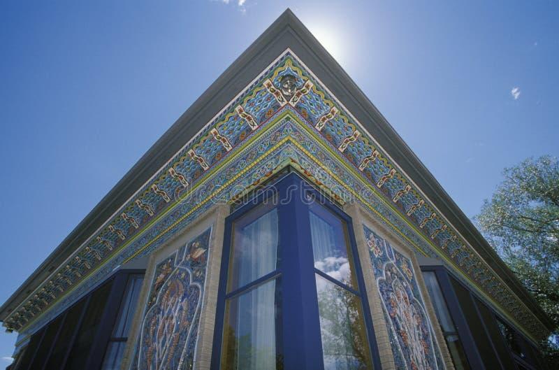 teahouse för stenblockcolorado perser royaltyfria bilder