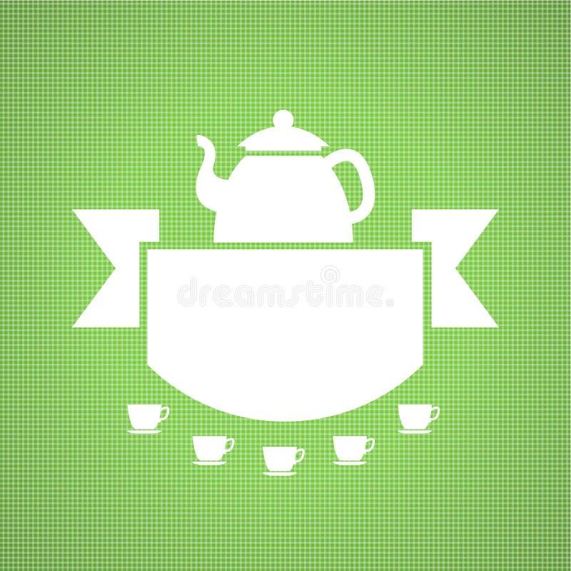 Teahouse projekt ilustracja wektor
