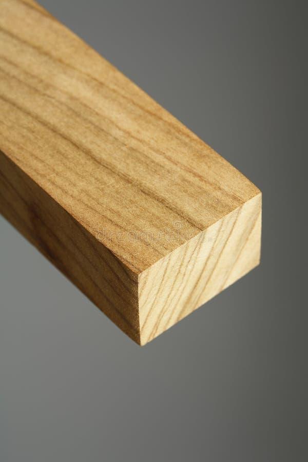 Teak. A piece of teak wood. Short depth-of-field stock images