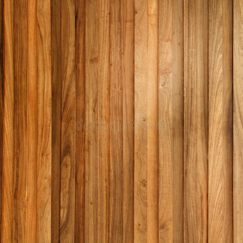 Teak houten plank royalty-vrije stock afbeelding