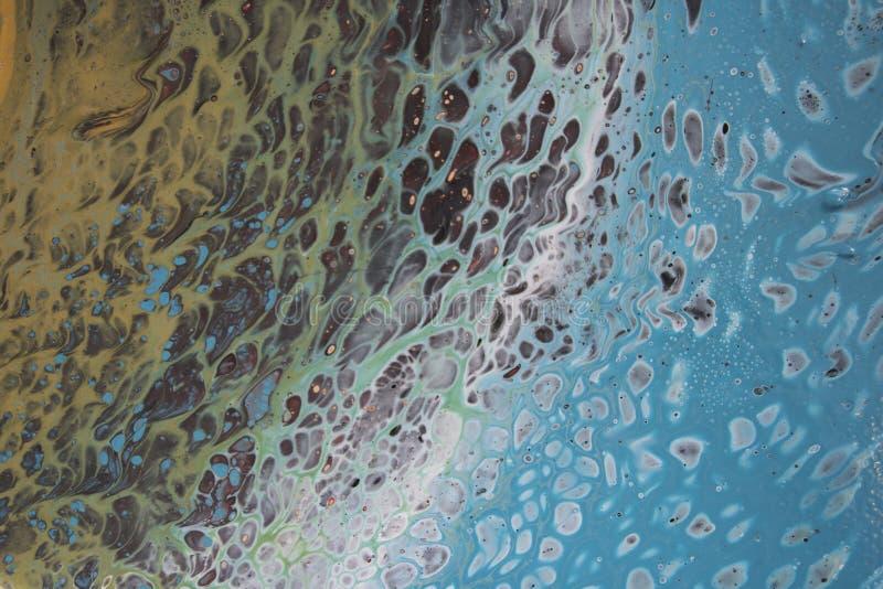 Teal Abstract 1-12 imagen de archivo