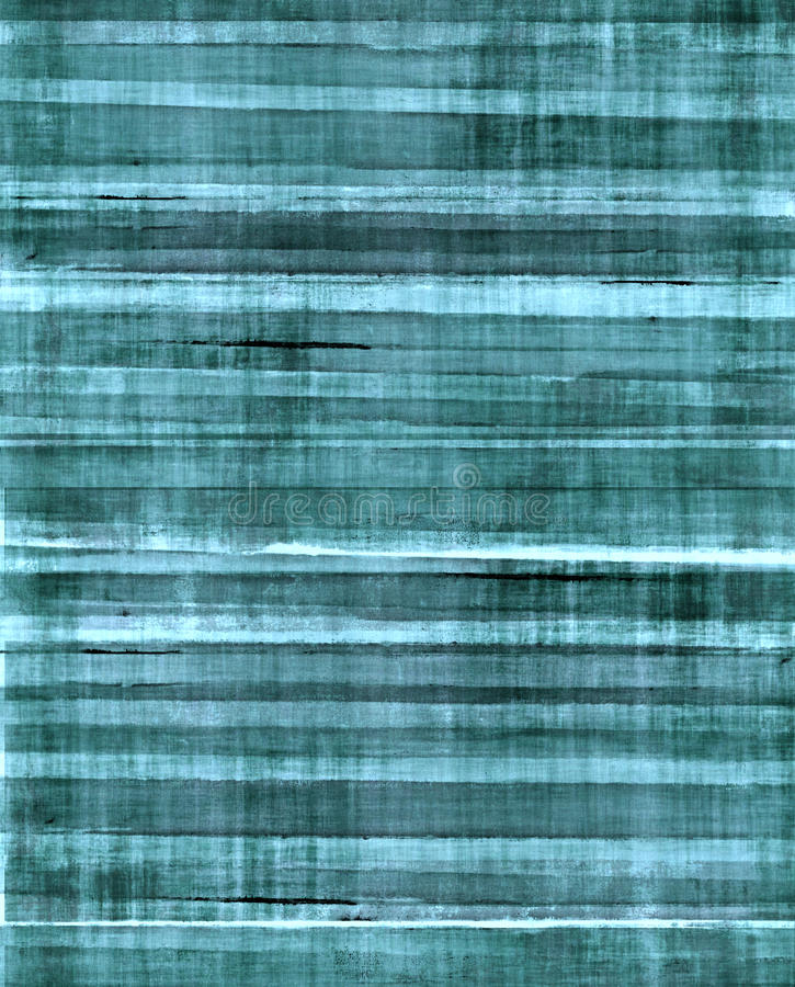 Teal Abstract Art Painting images libres de droits