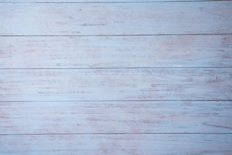 Teal Blue y Gray Rustic Wood Board Background llanos pintados que pueden ser u horizontales o verticales foto de archivo libre de regalías