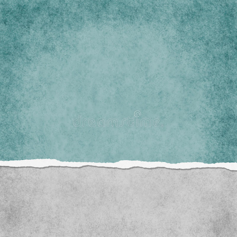 Teal Grunge Torn Textured Background leggero quadrato illustrazione vettoriale