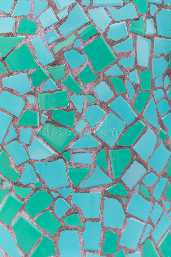 Teal Mosaic Tile Texture royalty free stock images
