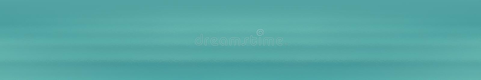 Teal web site header or footer background. Abstract design template royalty free illustration