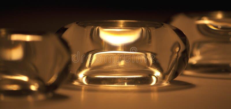 Tealight Halterungen stockbild