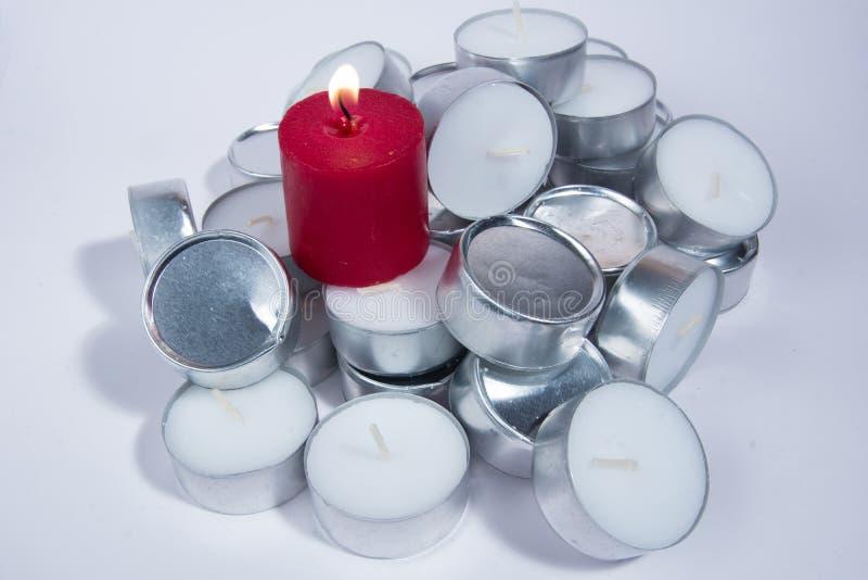 Tealights стоковая фотография
